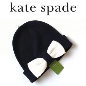 Kate Spade ♠️ Beanie with Colorblock Bow💎